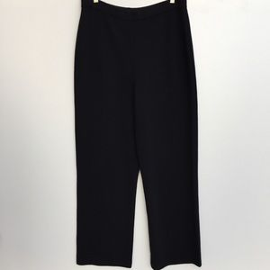 St John Basics High Waisted Knit Pants Black 12